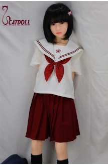 Catdoll Jing  EVO,136cm Japanese small breast doll,lovely young girl doll,school teen girl doll