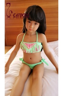 Catdoll  Miss Q Asian tone,108cm cute doll half EVO