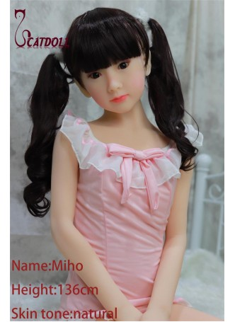 Catdoll Miho EVO,136cm Japanese small breast doll