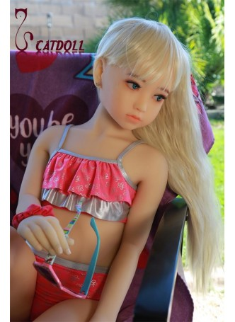 Catdoll EVO 115cm Nanako blue eyes in natural skin tone